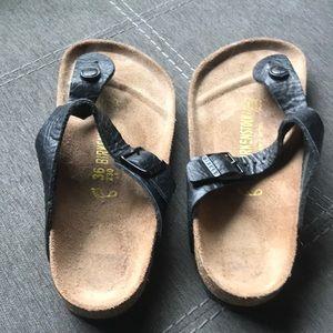 Sandals made by Birkenstock